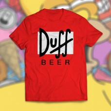 CAMISETA DUFF BEER OS SIMPSON