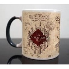 Caneca Mágica Harry Potter Mapa Do Maroto